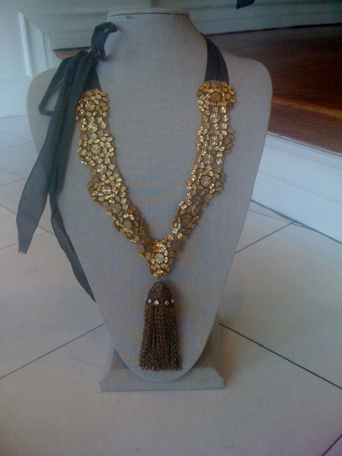 Vera Wang's Tassel Necklace